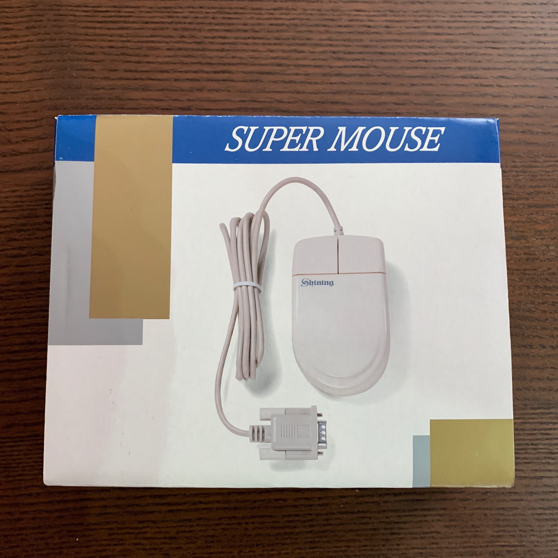 "A ""Super Mouse"" in its original box"